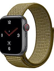 Недорогие -ремешок для часов для серии Apple Watch 4/3/2/1 яблоко милан петля ремешок из нейлона