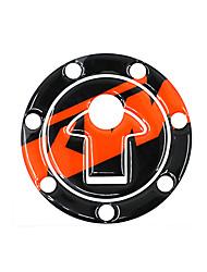 Недорогие -Светоотражающий 3d стикер мотоцикла топливного масла танк колодки наклейка защитная крышка для KTM Duke390 13-14 / Duke200 12-14 аксессуары