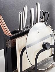 رخيصةأون -1PC الرفوف وشمعدانات الفولاذ المقاوم للصدأ سهلة الاستخدام