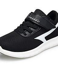 ราคาถูก -เด็กผู้ชาย / เด็กผู้หญิง ตารางไขว้ / PU รองเท้ากีฬา Big Kids (7 ปี +) ความสะดวกสบาย สีดำ / ฟ้า / สีชมพู ฤดูร้อน