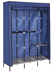 Недорогие -синий 68-дюймовый шкаф для спальни шкаф