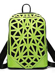 billige -Dame Tasker PVC rygsæk Udhulet Geometrisk mønster Bronze / Gul / Sølv