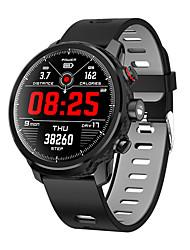 Недорогие -L5 умные часы мужчины ip68 водонепроницаемый несколько спортивный режим прогноз погоды сердечного ритма Bluetooth SmartWatch ожидания 100 дней
