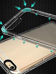 baratos -Para iphone 7/8 / 7plus / 8plus / x / 6 / 6s / i5 / 5s / se transparente tpu à prova de choque de proteção integral caso cove