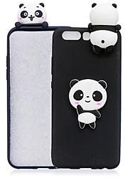 billige -CISIC Etui Til Apple iPhone X / iPhone 8 / iPhone 8 Plus Stødsikker / Støvsikker / Vandafvisende Bagcover Dyr / Tegneserie / Panda Blødt silica Gel for iPhone XR / iPhone XS Max / iPhone X