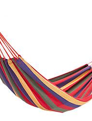 Недорогие -Туристический гамак На открытом воздухе Путешествия Эластик для 1 человек Походы Синий Red and White Синий / белый
