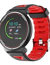 Недорогие -ST1 Мужчины Умный браслет Android iOS Bluetooth Водонепроницаемый Сенсорный экран Пульсомер Измерение кровяного давления Спорт