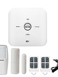 Недорогие -2019 Tuya Поддержка новой системы безопасности дома Wi-Fi сигнализации дома DIY беспроводной WiFi сигнализации / умный дом беспроводной безопасности 433 МГц