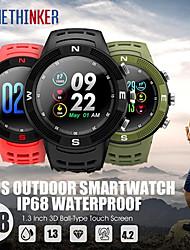 Недорогие -stf18 gps часы мужчины спортивные смарт-часы фитнес-трекер монитор сердечного ритма плавать трекер ip68 smartwatch подключить IOS Android телефон