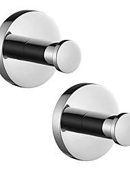 Недорогие -Крючок для халата Новый дизайн / Креатив Современный / Modern Металл 2pcs - Ванная комната На стену