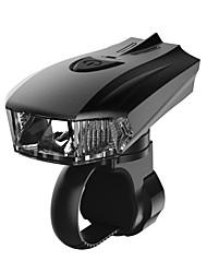 Недорогие -Светодиодная лампа Велосипедные фары Передняя фара для велосипеда LED Горные велосипеды Велоспорт Велоспорт Водонепроницаемый Интеллектуальная индукция Супер яркий Безопасность USB 360 lm Белый