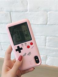 Недорогие -для iphone 7/8 плюс х тетрис видеоигры чехол чехол шикарный противоударный чехол подарок для ребенка дети мальчики девочки