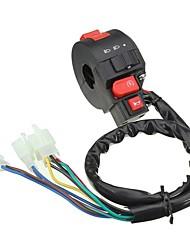 Недорогие -электрический указатель поворота рупора для универсального 7/8-дюймового руля мотоцикла atv