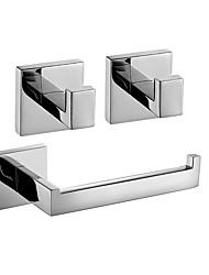 Недорогие -Набор аксессуаров для ванной Новый дизайн / Креатив Современный / Традиционный Металл 3шт - Ванная комната На стену