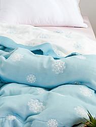 Недорогие -удобный - 1 одеяло Весна & осень Хлопок Цветочный принт
