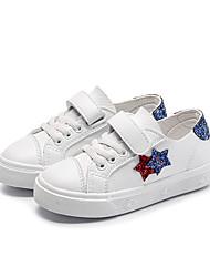 ราคาถูก -เด็กผู้ชาย / เด็กผู้หญิง PU รองเท้าผ้าใบ เด็กวัยหัดเดิน (9m-4ys) / เด็กน้อย (4-7ys) ความสะดวกสบาย ขาว / สีดำ / สีชมพู ฤดูใบไม้ผลิ / ฤดูร้อน