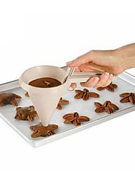 Недорогие -1шт пластик Творческая кухня Гаджет Своими руками Повседневное использование Печенье Cupcake Измерительные инструменты Инструменты для выпечки
