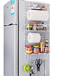 Недорогие -Высокое качество с Нержавеющая сталь Аксессуары для шкафов Для приготовления пищи Посуда Кухня Место хранения 2 pcs