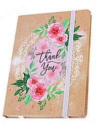 Недорогие -Новая новинка бумага ручная роспись цветы шаблон повязка катушка книга / тетрадь блокнот для школьного офиса канцтовары a5