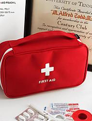 Недорогие -Органайзер для чемодана / Дорожный кейс для медикаментов / Аптечка первой помощи Полиэстер Компактность / Защита от пыли / Дорожные аксессуары для экстренных ситуаций Однотонный