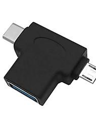 Недорогие -USB 3.0 otg Кабельный адаптер Micro USB Type-C