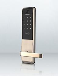 Недорогие -замок отпечатков пальцев commax умный замок домашней безопасности дверь электронный замок пароль замок дверной замок