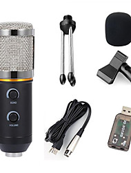 Недорогие -конденсаторный микрофон для компьютерной студии profesionales 3.5 мм проводная подставка usb mic для пк караоке запись ноутбука 6 шт
