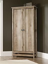 Недорогие -шкаф в стиле коттеджа шкаф для хранения шкаф с отделкой из светлого дуба