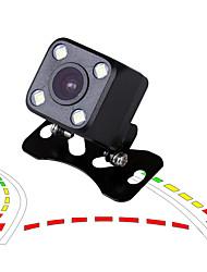 Недорогие -ziqiao динамическая траектория отслеживания ночного видения ccd hd цвет водонепроницаемая автомобильная камера заднего вида ip68 обратная резервная камера