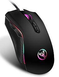 Недорогие -3200 точек на дюйм 7 кнопок 7 цветов светодиодные оптические USB проводная мышь компьютерная игровая мышь для профессиональных геймеров