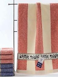 Недорогие -Высшее качество Полотенца для мытья, Полоски Чистый хлопок 1 pcs