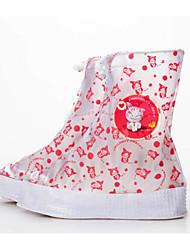 billige -Pige PVC Støvler Små børn (4-7 år) / Store børn (7 år +) Gummistøvler Rød / Blå Forår / Støvletter