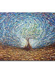 Недорогие -Абстракция Декор стены деревянный / Полиэстер европейский Предметы искусства, Гобелены Украшение