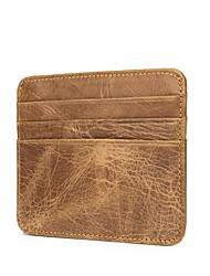 Недорогие -(bullcaptain) кожаная карточная сумка мужская многокарточная визитница визитка банк наборы кредитных карт кожаные водительские права