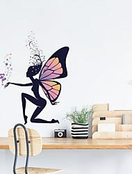 Недорогие -милые феи настенные наклейки - слова&усилитель; цитаты стикеры на стенах персонажи кабинет / кабинет / столовая / кухня