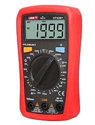 Недорогие -цифровой мультиметр uni-t ut33d автоматическое изменение размера ладони переменный ток вольтметр сопротивление амперметр тестер емкости