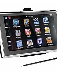 Недорогие -7-дюймовый автомобильный GPS-навигатор 256 / 8gb навигаторы FM-передатчик бесплатные карты