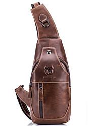 Недорогие -(bullcaptain) ретро мужская кожаная сумка на одно плечо из твила