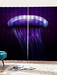 Недорогие -современный домашний декор роскошный 3d цифровая печать высокого качества занавески против обрастания влагостойкие занавески для душа с крючком / кольца