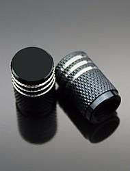 Недорогие -Цвет алюминиевый автомобиль шин колпачок клапана ступицы клапана авто аксессуары