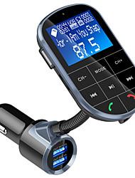 Недорогие -Spedcrd Bc37 Bluetooth FM-передатчик автомобильный mp3-плеер USB зарядное устройство