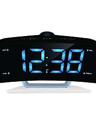 Недорогие -светодиодный проектор будильник с функцией радио sm2710-1104