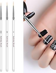 Недорогие -Стержень щетки ногтя тянуть ручку окрашены перо столбец гель рисунок живопись акриловая ручка для ногтей для маникюра набор инструментов
