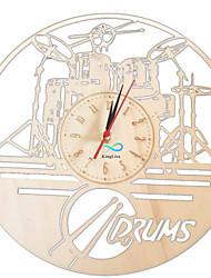 Недорогие -гитарные барабаны настенные деревянные настенные часы настенные художественные часы часы-барабанщик идеи подарков часы художественные украшения барабаны часы художественные работы барабанная установка