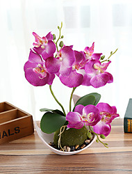 Недорогие -искусственные цветы 1 ветка классика современная современная роза настольный цветок
