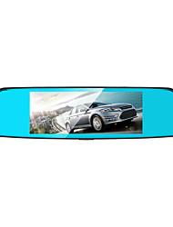 Недорогие -Anytek T77 480p / 1080p Новый дизайн Автомобильный видеорегистратор 150° Широкий угол 7 дюймовый Капюшон с G-Sensor / Режим парковки / Обноружение движения Автомобильный рекордер