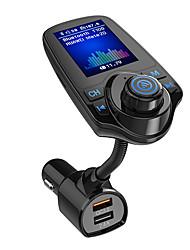 Недорогие -SpedCrd T10D Bluetooth 4.2 Комплект громкой связи Автомобильная гарнитура Bluetooth / Превышение напряжения (вход и выход) Защита / QC 3.0 Автомобиль
