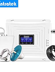 Недорогие -Lintratek 2g 3g 4g трехдиапазонный усилитель ретранслятора сигнала GSM 900 1800 3g Umts 2100 4g LTE 1800 усилитель сигнала сотового телефона внутренняя наружная антенна