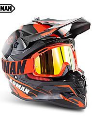 Недорогие -Зоман марки мотокроссу шлемы sm633 мотоцикл очки sm15 очки