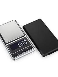 Недорогие -0.05g-500g Высокое разрешение Портативные Автоматическое выключение Цифровые ювелирные шкалы Мини-карманная цифровая шкала Семейная жизнь Наружное путешествие